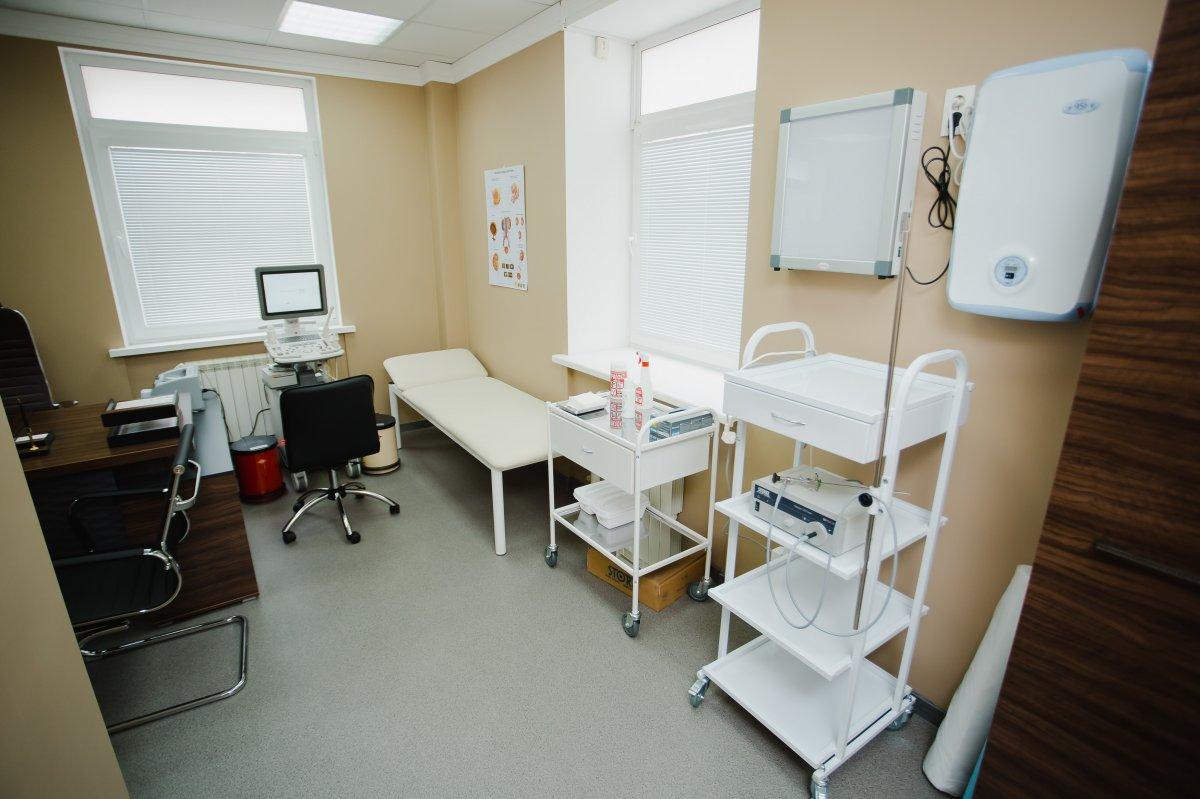 Кабинет врача 1 клиники мужского здоровья