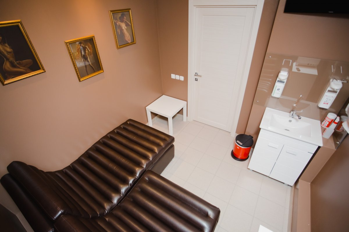 Комната для сдачи спермы в клинике мужского здоровья