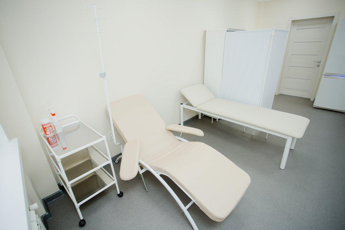 Процедурный кабинет клиники мужского здоровья