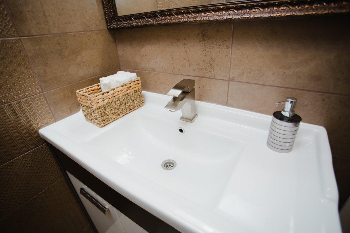 Туалетная комната в клинике мужского здоровья