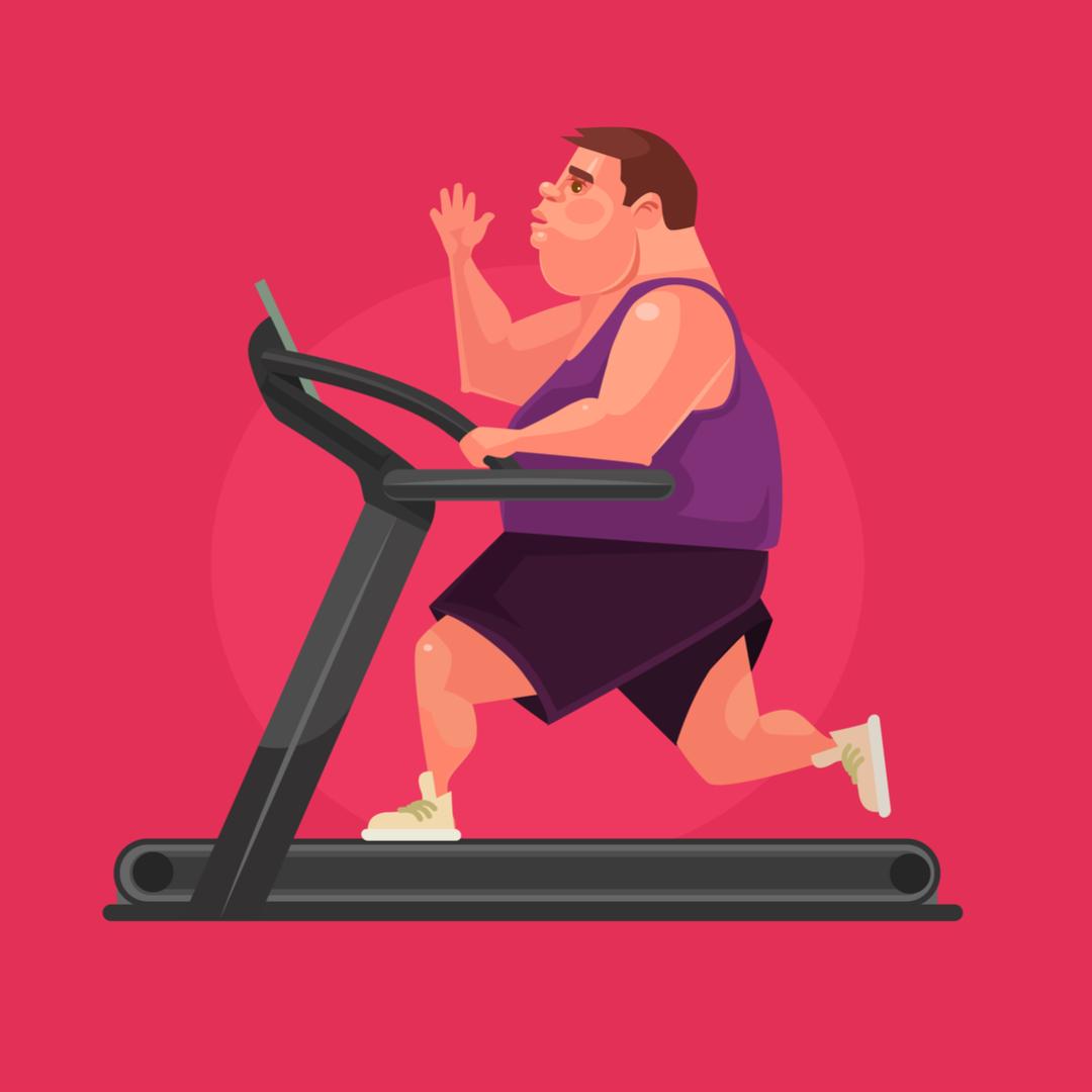 Лечение мужского ожирения